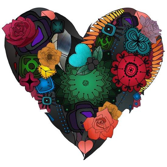 Gobblynne Heart Art Print