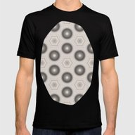 Fractal Cogs N Wheels In… Mens Fitted Tee Black SMALL
