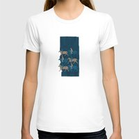 Journey 02 Womens Fitted Tee White SMALL