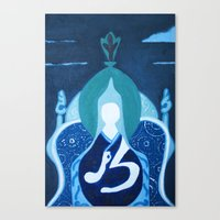 Canvas Print featuring zen by WIT Monster