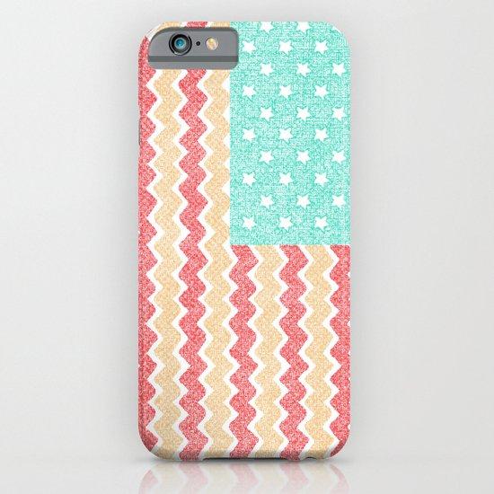 Zig Zag Flag. iPhone & iPod Case