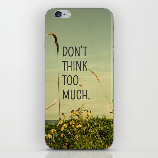 Travel Like A Bird Without a Care iPhone & iPod Skin