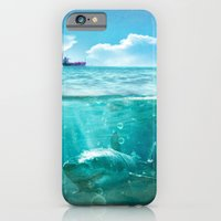 iPhone & iPod Case featuring Blue by SensualPatterns