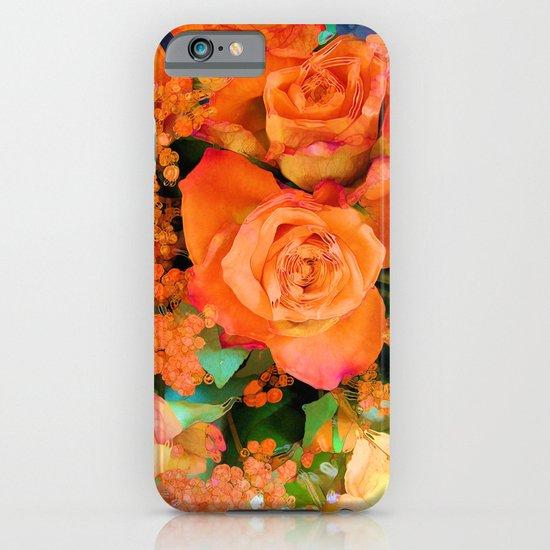 Fiery Flowers iPhone & iPod Case