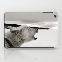 Calling Out B&W iPad Case