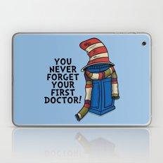 Blue Box in the Hat Laptop & iPad Skin