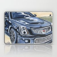 Black on Black {Cadillac CTS Painting} Laptop & iPad Skin