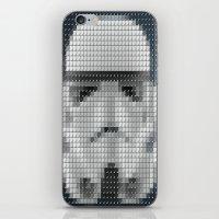 Stormtrooper Pantone Pop iPhone & iPod Skin