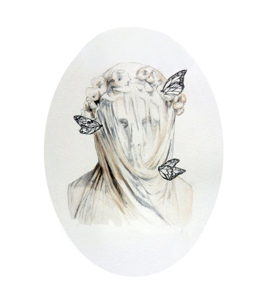 Staue of Spring Art Print