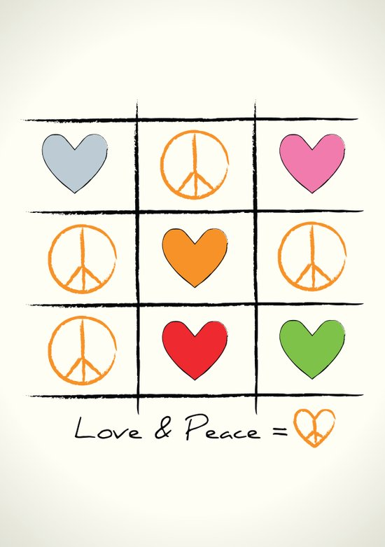 Love & Peace Art Print