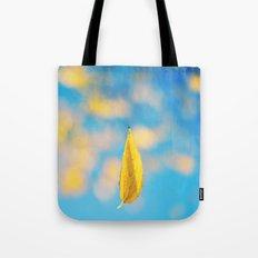 Yellow & blue Tote Bag