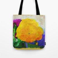 Color Of Pansies Writ La… Tote Bag