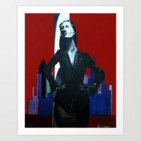 Armani Rhapsody & Blue Art Print