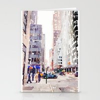 nyc Stationery Cards featuring NYC by Christine Workman