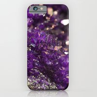Geode Abstract Amethyst iPhone 6 Slim Case