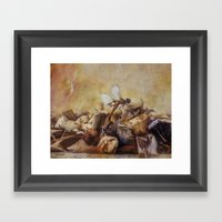 Respite Of The Mosquito … Framed Art Print