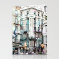 Barceona In Pastel Color… Stationery Cards