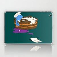 SUICIDAL SMURF  Laptop & iPad Skin