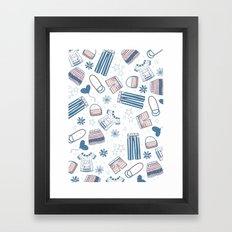 FASHION BUNNY Framed Art Print