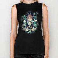 OVER YOUR DEAD BODY Biker Tank
