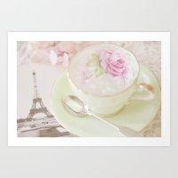 Paris Tea Art Print