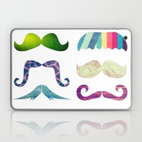 mustache BOOM Laptop & iPad Skin
