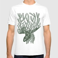 Moose-fir Mens Fitted Tee White SMALL