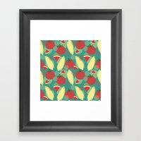 Sweet Taste of Summer Framed Art Print