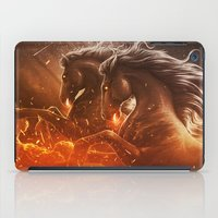 Fire With Horses iPad Case