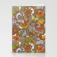 Ava's garden iPhone case Stationery Cards
