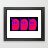 3 Mr. Grubbo Framed Art Print