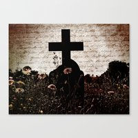 Cross My Heart Canvas Print