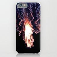 Cloud of fire iPhone 6 Slim Case