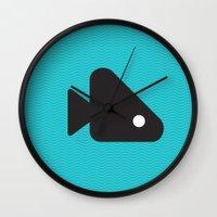 Fishie Wall Clock