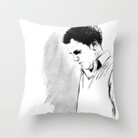 DARK COMEDIANS: John C. … Throw Pillow
