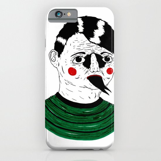 Snake Kid iPhone & iPod Case