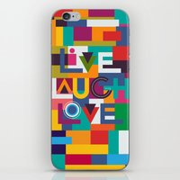 C13 LIVELAUGHLOVE V2 iPhone & iPod Skin