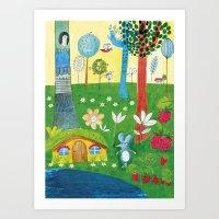 The little mouse Art Print