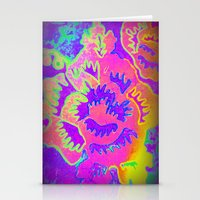 Neon Fantasy Stationery Cards