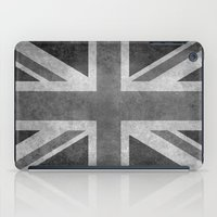 Union Jack Vintage retro style B&W 3:5 iPad Case