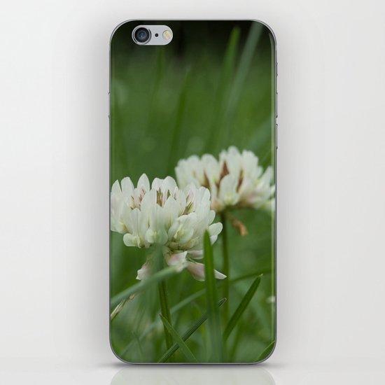 White Clover iPhone & iPod Skin