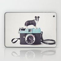 The Collie And The Diana Laptop & iPad Skin