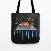 Warm Sun With A Cold Climate Tote Bag