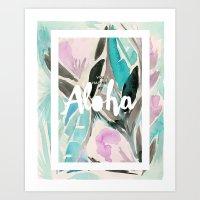 You Had Me At Aloha Art Print