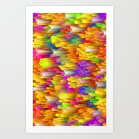 Speed of Light Art Print