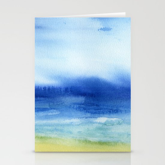 The Sea Is My Church Stationery Card