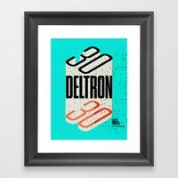 Deltron3030 TBD Fest Pos… Framed Art Print