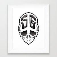 Soul Expressions logo Framed Art Print