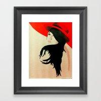 Red 1.0 Framed Art Print