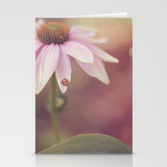 Ladybug Love Stationery Card